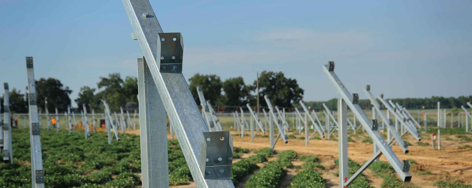 Brilliant Rack - Solutions for Ground Mounted Solar Projects